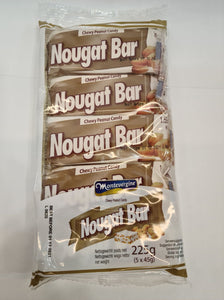 Chewy Peanut Nougat Bars