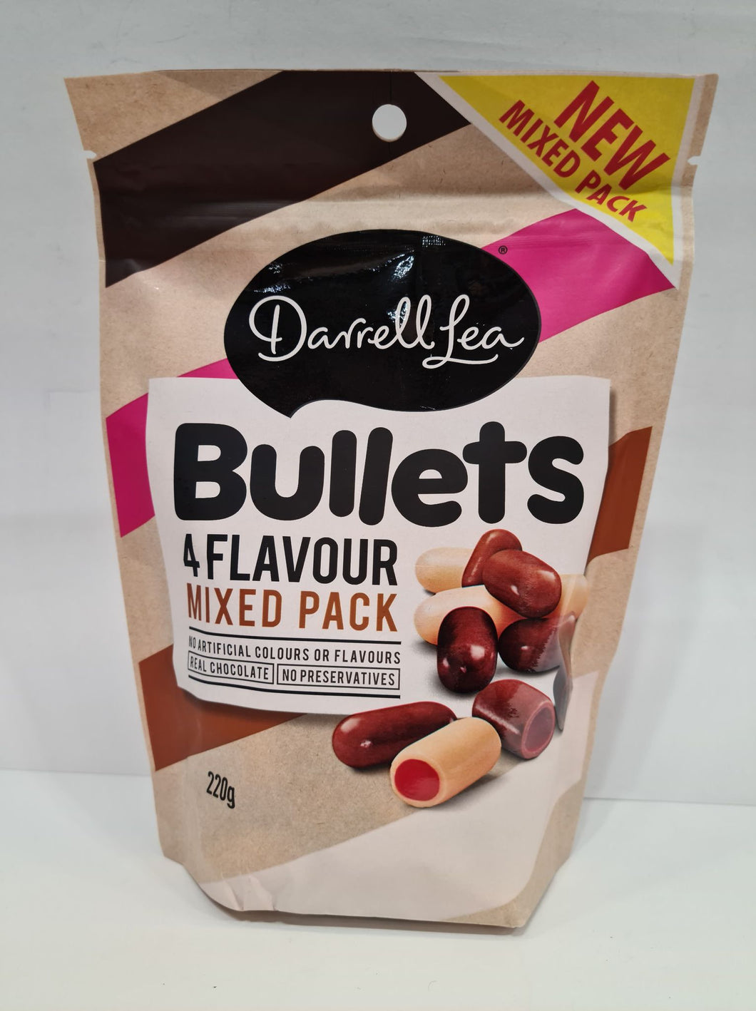 Darrell Lea 4 Flavour Mixed Bullets