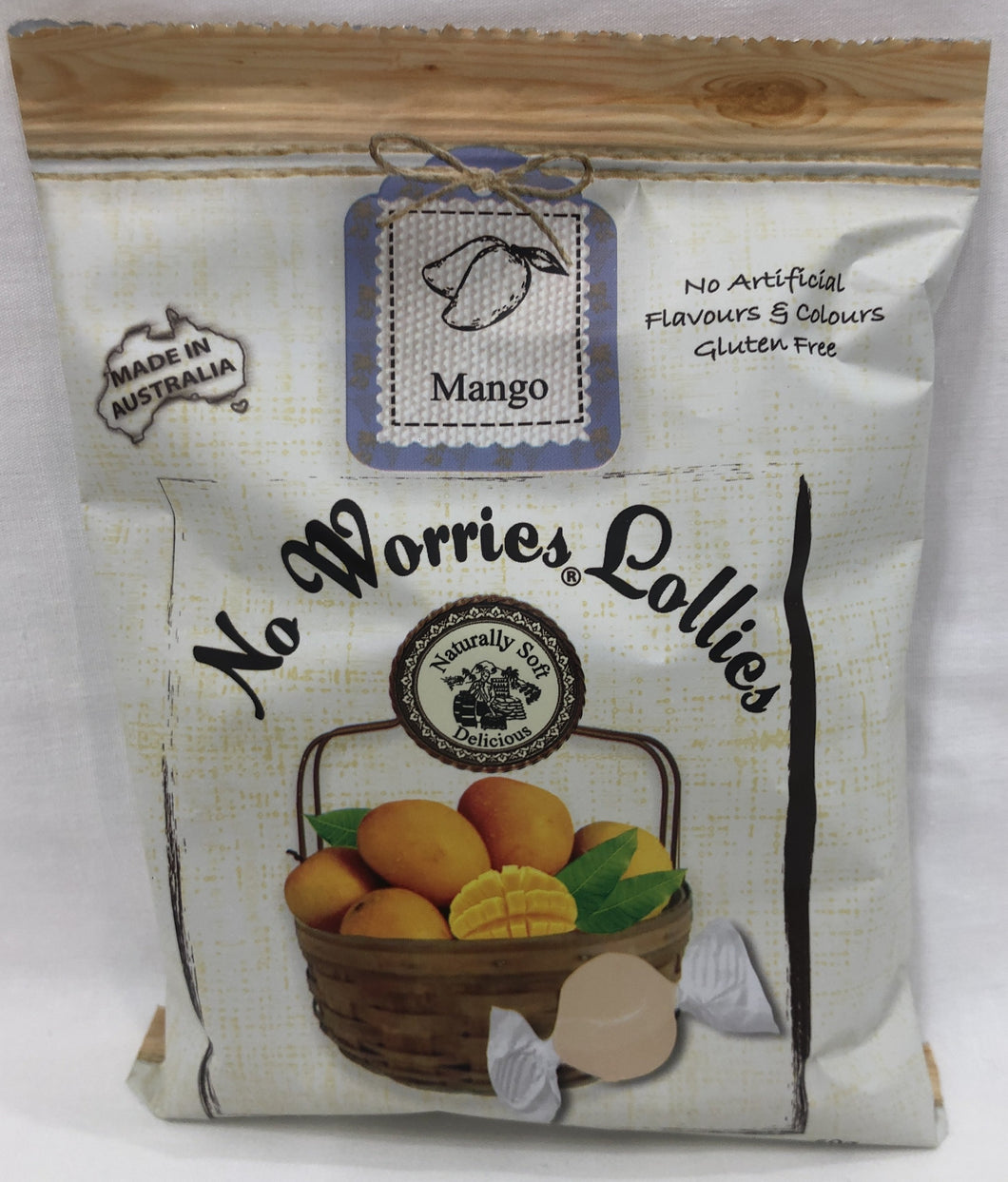 No Worries Lollies Mango Bag