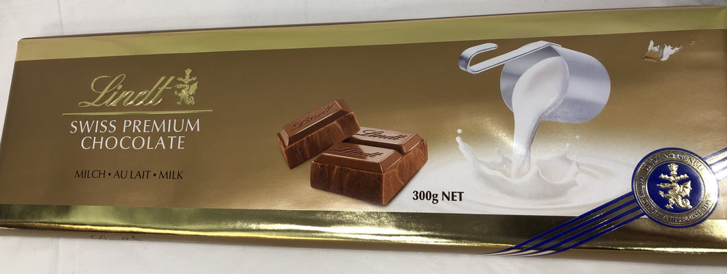Lindt Swiss Milk Chocolate Block