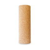 Standing Yogibato yoga roller made of natural cork for muscle massage
