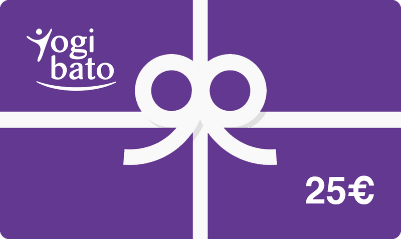 Yogibato Online Shop Gift Cards purple value 25€