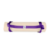 Yogibato yoga mat carrying strap in lavender
