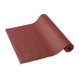 Yogibato Yoga Mat Studio partially rolled with extra grip structure made in Germany and oeko tex certificate in color Bordeaux
