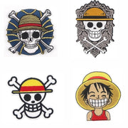 One Piece Anime applique for clothes.