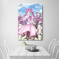 Akame Ga KILL canvas painting for wall. - Adilsons
