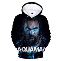 Aquaman 3D printed long sleev hoodiese. - Adilsons