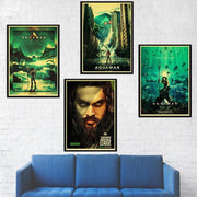 Aquaman canvas poster. - Adilsons