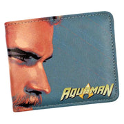 Aquaman PU short wallets. - Adilsons