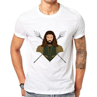 Aquaman short sleeve T-shirts. - Adilsons