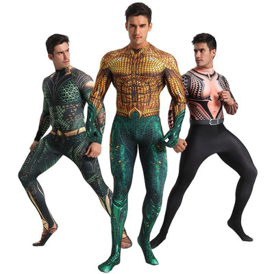 Aquaman stylish costume. - Adilsons