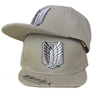 Attack on Titan baseball cap - Adilsons