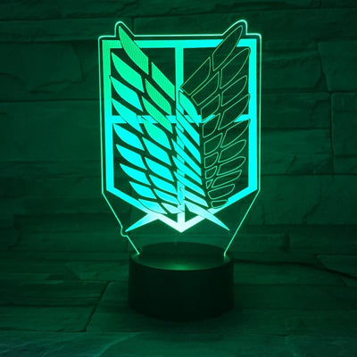 Attack On Titan Bed light - Adilsons