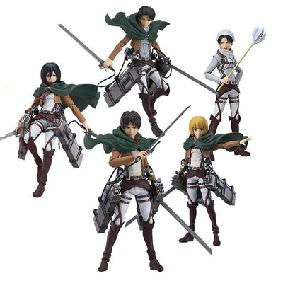 Attack On Titan original high-quality figurine - Adilsons
