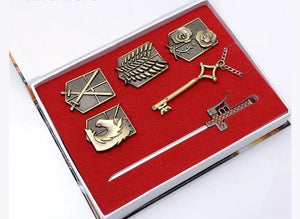 Attack on Titan Sets of Necklace - Adilsons