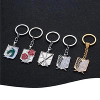 Attack On Titan: Stainless steel KeyChain - Adilsons