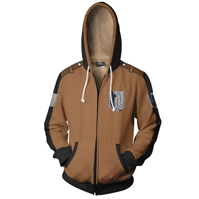 Attack On Titan: Survey Corp hoodies - Adilsons