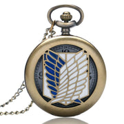 Attack On Titan Survey Corps Pocket Watch - Adilsons