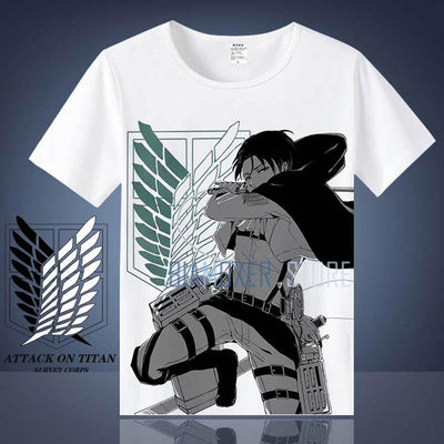 Attack On Titan T-Shirt short sleeves - Adilsons