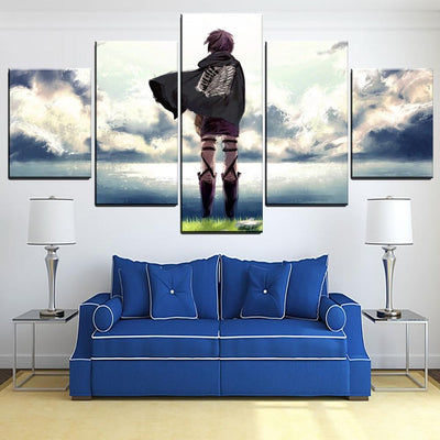 Attack On Titan Wall Art Canvas - Adilsons