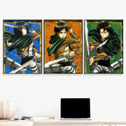 Attack On Titan Wall decoration posters - Adilsons