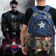Avengers Captain America modern backpack. - Adilsons