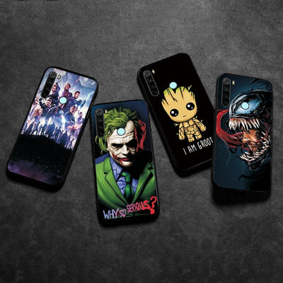 Avengers case silicone for Xiaomi. - Adilsons