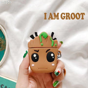 "Avengers ""I am Groot"" case for AirPods. - Adilsons"