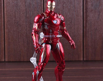 Avengers Iron Man action figure 17.5cm. - Adilsons