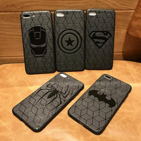Avengers matte silicone case for iPhone. - Adilsons