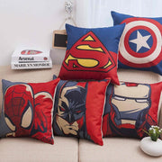 Avengers pillow case with Super heroes. - Adilsons