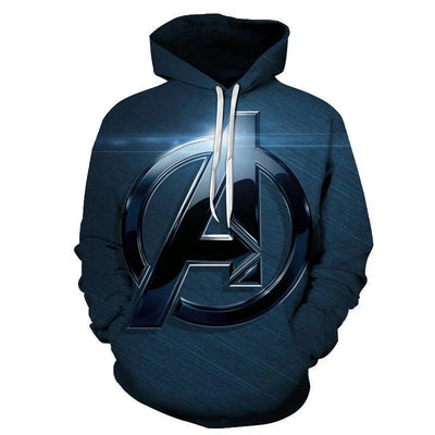 Avengers streatwear with 3D print hoodies. - Adilsons