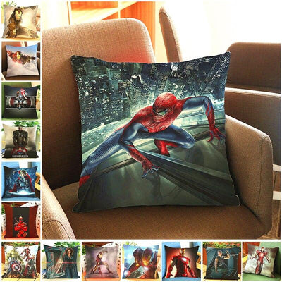 Avengers ultra soft velvet pillow case. - Adilsons