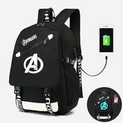 Avengers USB luminous backpack. - Adilsons