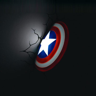 Avengers wall lamps. - Adilsons