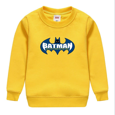 Batman printed kids hooded. - Adilsons
