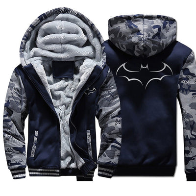 Batman winter zipper jackets. - Adilsons