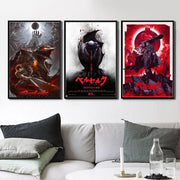 Berserk Anime home decor poster. - Adilsons