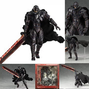Berserk black Swordman PVC Action figure. - Adilsons