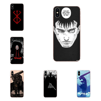 Berserk luxury for Apple iPhone case. - Adilsons