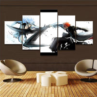 Bleach Grimmjow Vs Ichigo Wall Art 5pcs - Adilsons