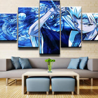 Bleach Hitsugaya Toshiro Wall Art 5pcs - Adilsons