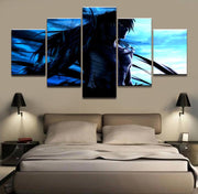 Bleach Ichigo final form against Aizen Wall Art 5pcs - Adilsons