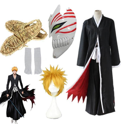 Bleach: Ichigo's hollow mask bankai Cosplay - Adilsons
