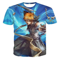 Bleach T-shirts with bright 3D-print high-quality - Adilsons
