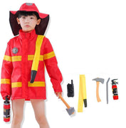 Children's costume fireman. - Adilsons