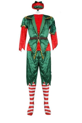 Christmas costume in the form of an Elf for an adult male. - Adilsons