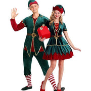 Christmas elf costume for an adult girl. - Adilsons