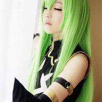 Code Geass C.C. Green synthetic wig - Adilsons
