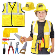 Construction worker Kid's Costume - Adilsons